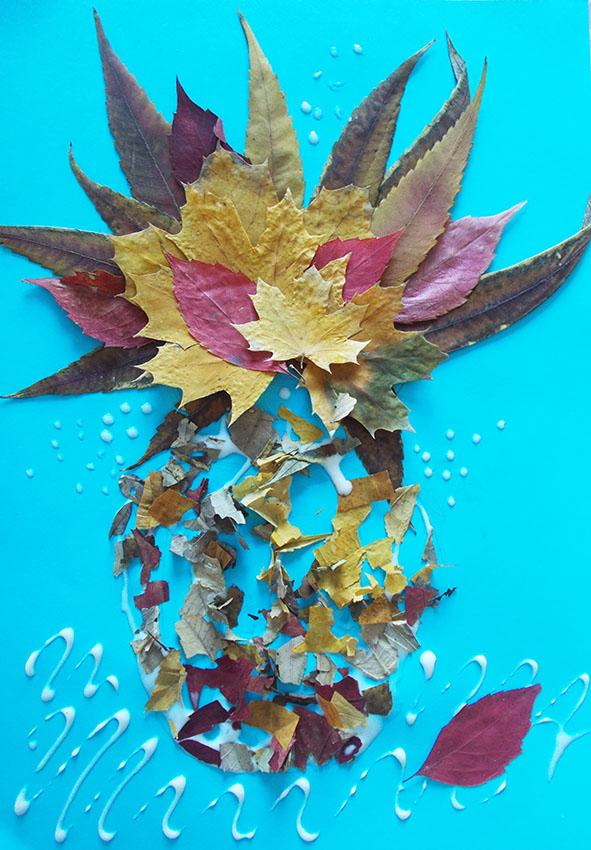 апликации из листьев1